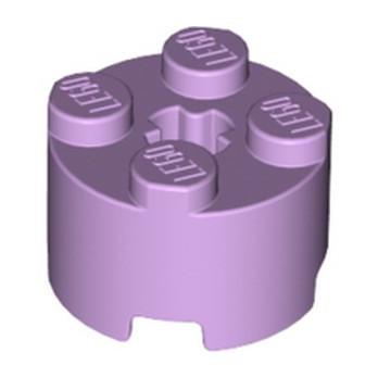 LEGO 6223600 BRIQUE RONDE Ø16 W. CROSS - LAVENDER lego-6223600-brique-ronde-o16-w-cross-lavender ici :