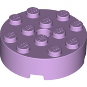 LEGO 6172421 BRICK 4X4 ROUND  - LAVENDER lego-6172421-brick-4x4-round-lavender ici :