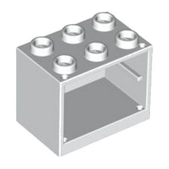 LEGO 4258385  CAISSON MEUBLE 2x3x2 - BLANC lego-4619665-caisson-meuble-2x3x2-blanc ici :