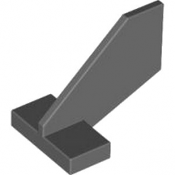 LEGO TIMÓN GOUVERNAIL 2X3X2 - DARK STONE GREY lego-4184299-gouvernail-2x3x2-dark-stone-grey ici :