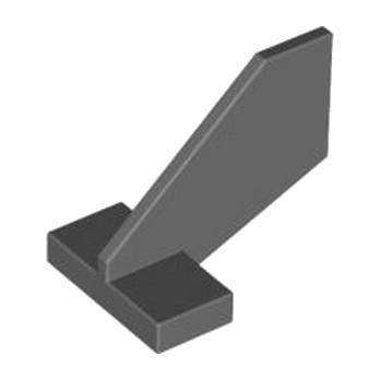 LEGO 4184299 RUDDER  2X3X2 - DARK STONE GREY lego-4184299-rudder-2x3x2-dark-stone-grey ici :