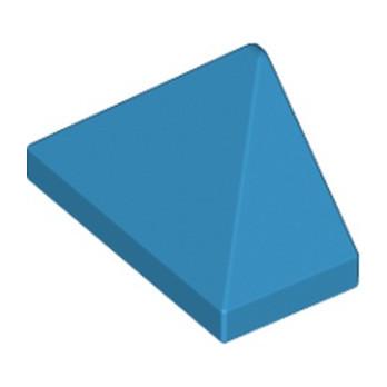 LEGO 6151689 END RIDGED TILE 1X2/45° - DARK AZUR lego-6151689-end-ridged-tile-1x245-dark-azur ici :
