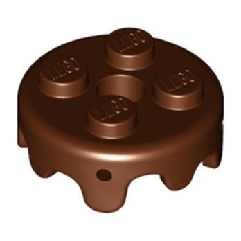 LEGO  6275030 DECOR TOURBILLON - REDDISH BROWN