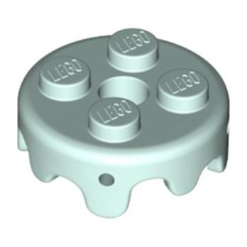 LEGO  6286644  DESIGN PLATE 2X2 - REDDISH BROWN lego-6289379-design-plate-2x2-aqua ici :