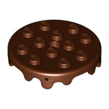 LEGO  6286645 DESIGN PLATE 4X4 - REDDISH BROWN lego-6286645-design-plate-4x4-reddish-brown ici :