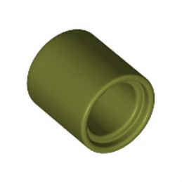LEGO 6278105 TUBE BEAM 1x1 - OLIVE GREEN