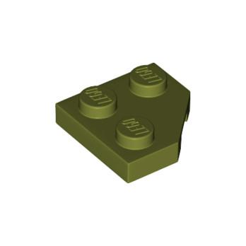 LEGO 6278087 PLATE 2X2, CORNER, 45 DEG. - OLIVE GREEN lego-6278087-plate-2x2-corner-45-deg-olive-green ici :