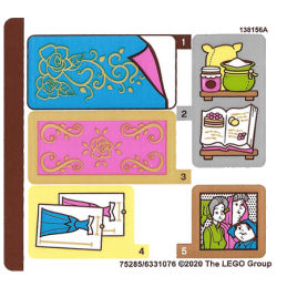 Stickers Lego Disney 43188 stickers-lego-disney-43188 ici :