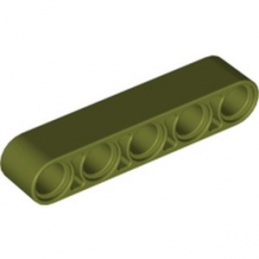 LEGO 6278029 TECHNIC 5M BEAM - OLIVE GREEN lego-6278029-technic-5m-beam-olive-green ici :