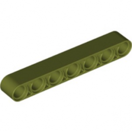 LEGO 6278042 TECHNIC 7M BEAM - OLIVE GREEN lego-6278042-technic-7m-beam-olive-green ici :