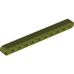 LEGO  6278092 TECHNIC 11M BEAM - OLIVE GREEN lego-6278092-technic-11m-beam-olive-green ici :