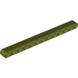 LEGO 6278041 TECHNIC 13M BEAM - OLIVE GREEN lego-6278041-technic-13m-beam-olive-green ici :