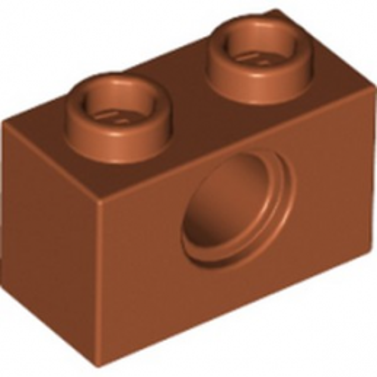 LEGO 6223839 TECHNIC BRIQUE 1X2, Ø4.9 - DARK ORANGE lego-6223839-technic-brique-1x2-o49-dark-orange ici :