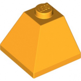 LEGO 6070657 CORNER BRIQUE 2X2/45° OUTSIDE - FLAME YELLOWIS ORANGE lego-6070657-corner-brique-2x245-outside-flame-yellowis-orange ici :