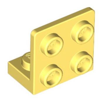LEGO 6296485 ANGULAR PLATE 1.5 BOT. 1X2 2/2 - COOL YELLOW