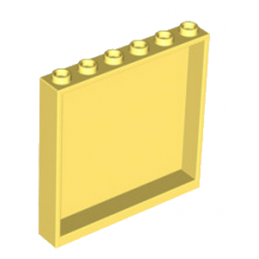 LEGO 6309939 WALL ELEMENT 1X6X5 - COOL YELLOW lego-6309939-wall-element-1x6x5-cool-yellow ici :