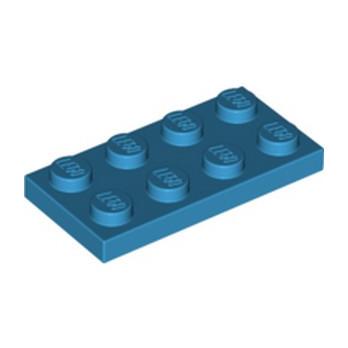 LEGO 6210675 PLATE 2X4 - DARK AZUR