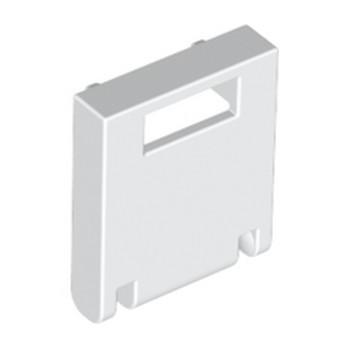 LEGO 434601 FACADE BOITE AUX LETTRES - BLANC lego-434601-mailbox-front-2x2-white ici :