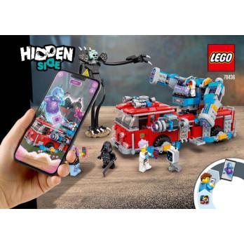 Instructions Lego Hidden Side 70436