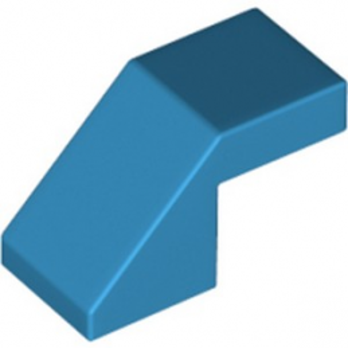 LEGO 6311328 ROOF TILE 1X2 45° - DARK AZUR lego-6311328-roof-tile-1x2-45-dark-azur ici :