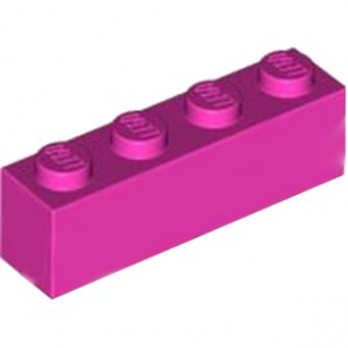 LEGO 4621542 BRIQUE 1X4 - ROSE