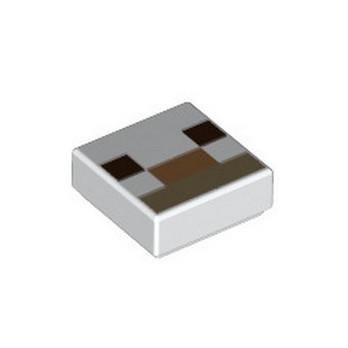 LEGO 6337098 IMPRIME MINECRAFT 1X1 - WHITE lego-6337098-imprime-minecraft-1x1-white ici :