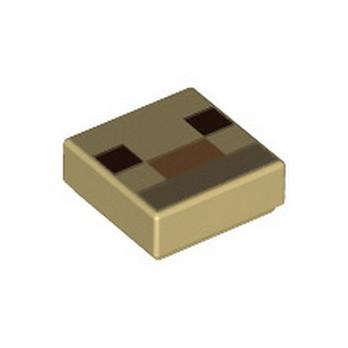 LEGO 6335376 IMPRIME MINECRAFT 1X1 - TAN lego-6335376-imprime-minecraft-1x1-tan ici :