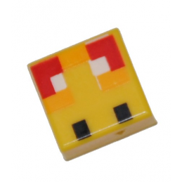 LEGO 6335368 FLAT TILE MINECRAFT 1X1 - YELLOW