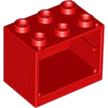 LEGO 4619543 CAISSON MEUBLE 2x3x2 - ROUGE