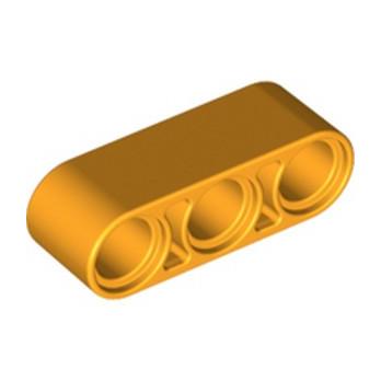 LEGO 6275899 TECHNIC 3M BEAM - FLAME YELLOWISH ORANGE