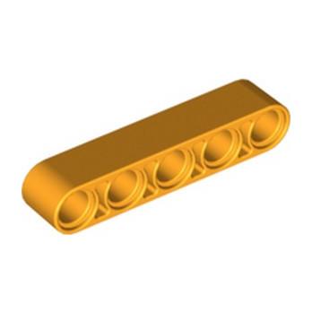 LEGO 6203256 TECHNIC 5M BEAM - FLAME YELLOWISH ORANGE lego-6203256-technic-5m-beam-flame-yellowish-orange ici :