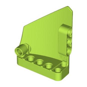 LEGO 6250243 TECHNIC RIGHT PANEL 5X7 - BRIGHT YELLOWISH GREEN