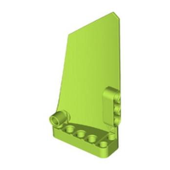 LEGO 6182382 RIGHT PANEL 5X11 - BRIGHT YELLOWISH GREEN