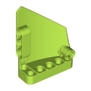 LEGO 6250242 TECHNIC LEFT PANEL 5x7 - BRIGHT TELLOWISH GREEN