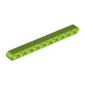 LEGO 6293920 TECHNIC 11M BEAM - BRIGHT YELLOWISH GREEN lego-6293920-technic-11m-beam-bright-yellowish-green ici :