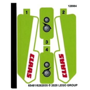 Stickers Lego TECHNIC 42102