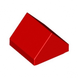 LEGO 6224794 TUILE 1X1 45° - RED