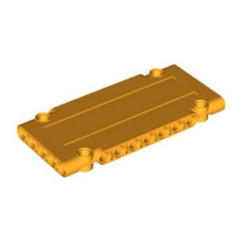 LEGO 6275892 TECHNIC FLAT PANEL 5X11 - FLAME YELLOWISH ORANGE