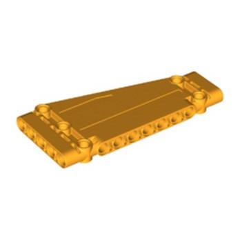 LEGO 6275894 TECHNIC PANEL / ANGLE 5X11 - FLAME YELLOWISH ORANGE lego-6275894-technic-panel-angle-5x11-flame-yellowish-orange ici :