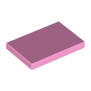LEGO 6290982 FLAT TILE 2X3 - ROSE CLAIR