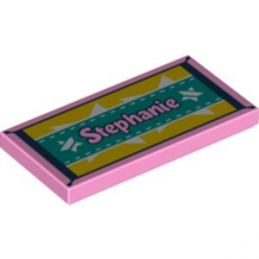 LEGO 6266902 TILE 2X4 - ROSE CLAIR lego-6266902-tile-2x4-bright-pink ici :