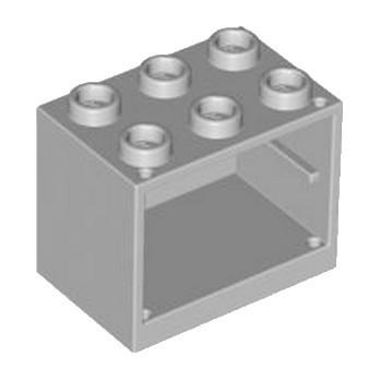 LEGO 4610112 CUPBOARD 2X3X2 - MEDIUM STONE GREY lego-4610112-cupboard-2x3x2-medium-stone-grey ici :