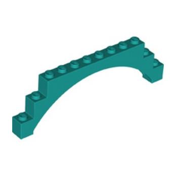 LEGO 6289132 ARCH 1X12X3 - BRIGHT BLUEGREEN lego-6289132-arch-1x12x3-bright-bluegreen ici :