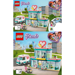 Notice / Instruction Lego Friends 41394