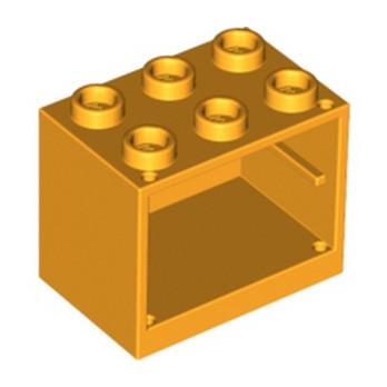 LEGO 6104481 CUPBOARD 2X3X2 - FLAME YELLOWISH ORANGE