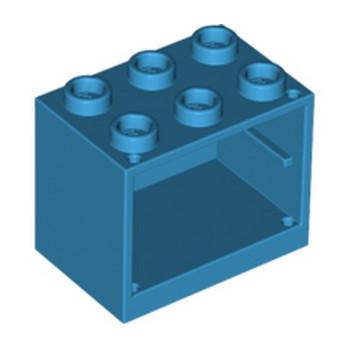 LEGO 6173811 CUPBOARD 2X3X2 - DARK AZUR lego-6173811-cupboard-2x3x2-dark-azur ici :