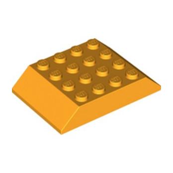 LEGO 6218081 TUILE  4X6 45° - FLAME YELLOWISH ORANGE
