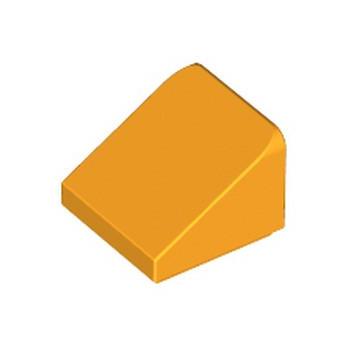 LEGO 6023173 TUILE 1X1X2/3 - FLAME YELLOWISH ORANGE