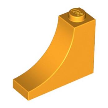 LEGO 6172370 - 1/2 ARCHE INV 1x3x2 - FLAME YELLOWISH ORANGE