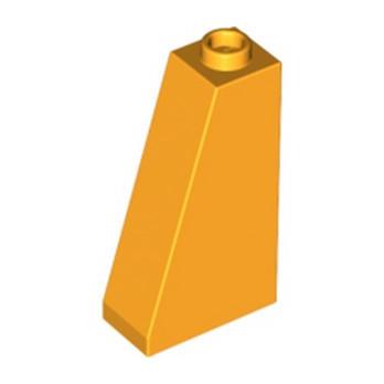 LEGO 6023161 TUILE 1X2X3/73° - FLAME YELLOWISH ORANGE